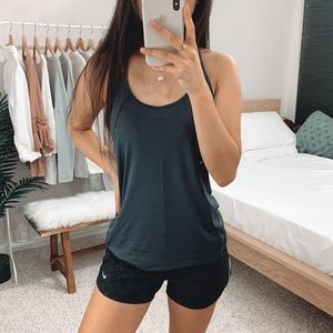 Old Navy - Gray Racerback Workout Tank Top
